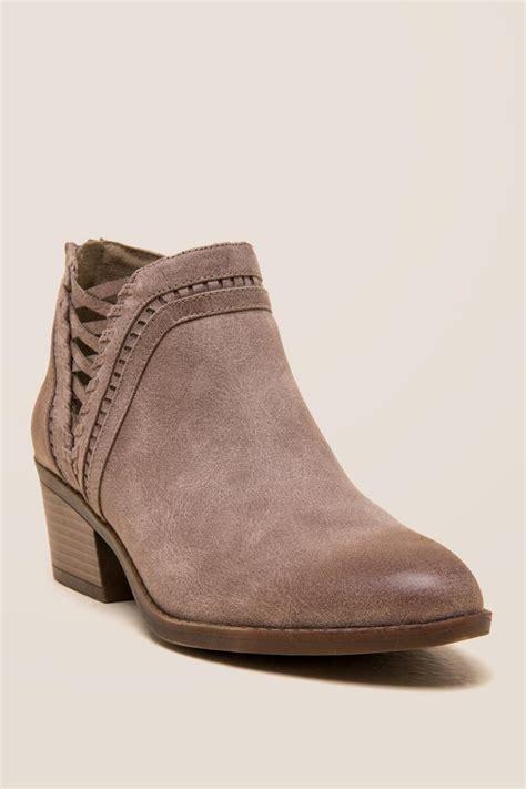 taupe fergalicious wisdom chopout ankle boot s