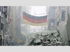 DeutschlandFlagge im SyrienKrieg An der Front in Aleppo