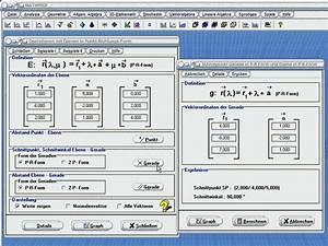 Schnitt Berechnen Punkte : r bespr mathe software e lin algebra programme ~ Themetempest.com Abrechnung