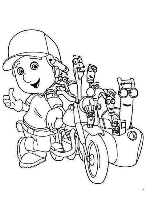 top   printable handy manny coloring pages  coloring pages cartoon coloring