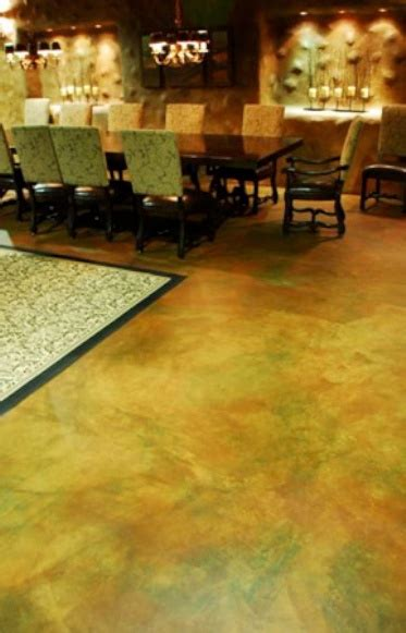 Water-Based Concrete Stain