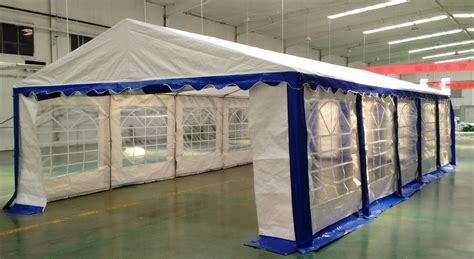 heavy duty white  blue party tent canopy
