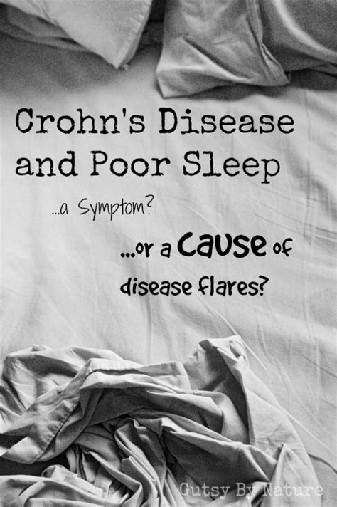 Crohn's Disease and Poor Sleep: Symptom or Cause | Gutsy