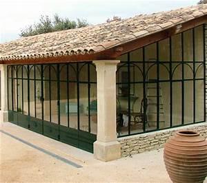 Véranda Fer Forgé : veranda en fer forg ma v randa ~ Premium-room.com Idées de Décoration