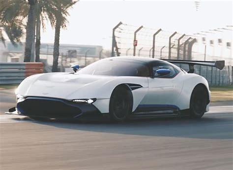 Aston Martin Song by Aston Martin Vulcan On The Track