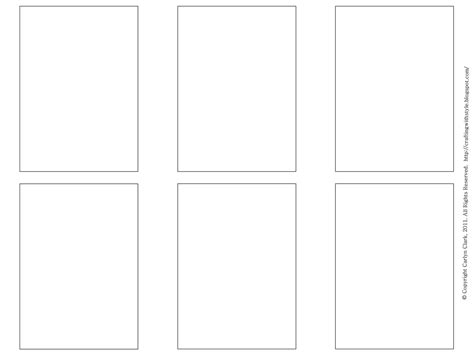 1 4 page card template free blank business card templates free atc templates