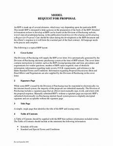 sample request for proposal format With request for bids template