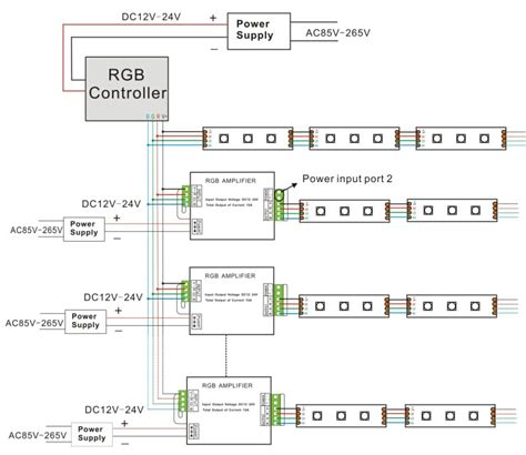 Rgb Led Signal Amplifier For Strips