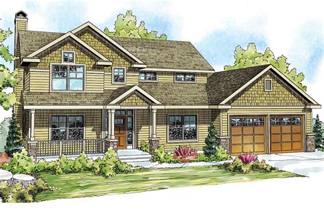 Well-appointed Craftsman House Plan