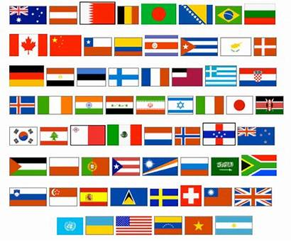 Flags Around Clipart Clip Flag Names Cliparts