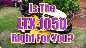 My Cub Cadet Riding Mower Review Overview Ltx 1050  Cub