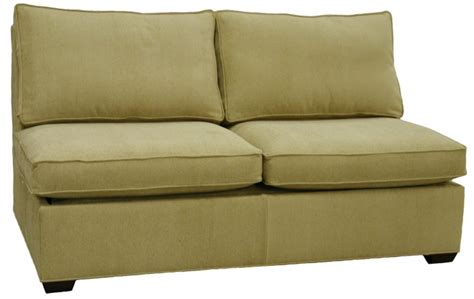 Armless Sleeper Sofa by Sectional Armless Sleeper Sofa Carolina