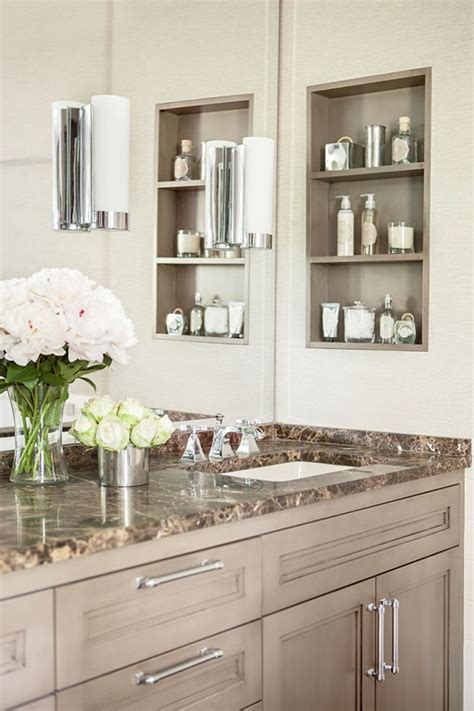 30 Excellent Bathroom Shelves Built In  Eyagcicom