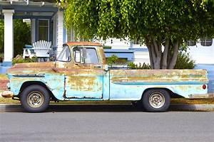 Pick Up Voiture : images gratuites voiture un camion v hicule moteur rouill voiture ancienne pick up ~ Maxctalentgroup.com Avis de Voitures
