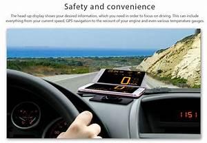 2020 Hud Head Up Display Car Cell Phone Gps Navigation