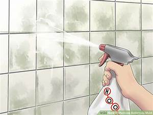 5 ways to remove bathroom mold wikihow With bathroom mildew removal