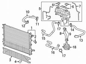 2013 Chevrolet Malibu Coolant Temp Sensor  Engine Coolant