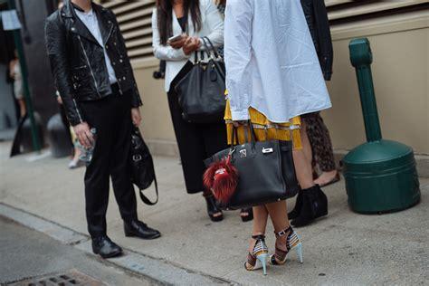 bags  nyfw spring  street style days   purseblog