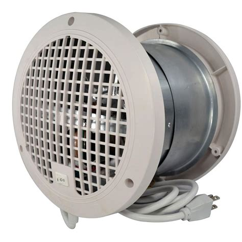 built in vent thruwall 7 5 8 in transfer fan tw108 the home depot