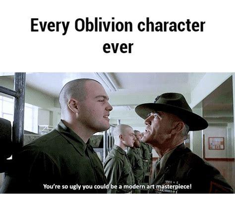 Oblivion Memes - 25 best memes about oblivion face oblivion face memes