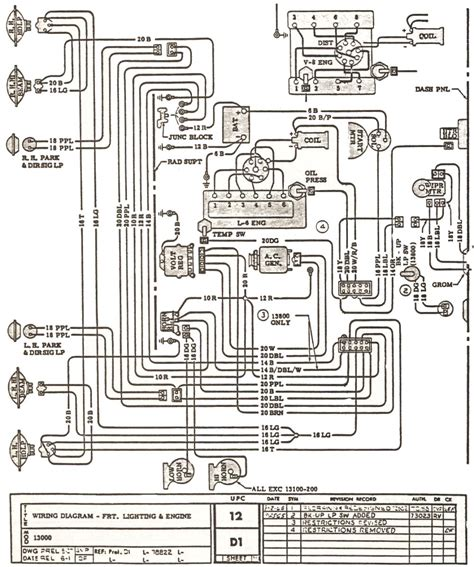 Wiring Diagram 66 Chevelle by Chevelle 4 Sd Wiring Diagram Wiring Library