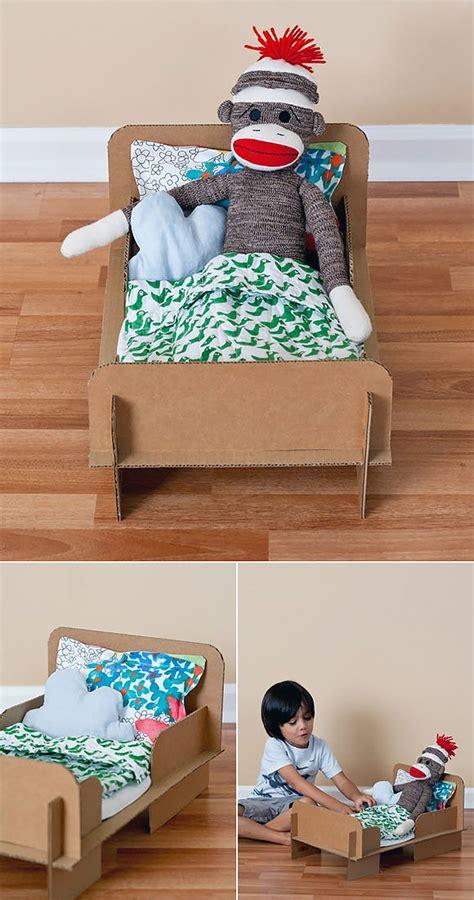 25190 diy american doll bed 6 ways to make a cardboard dollhouse handmade