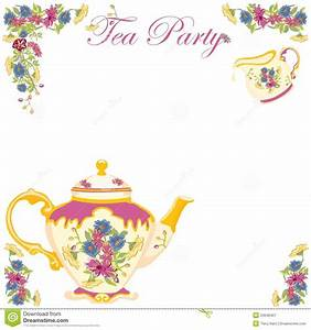 Invitation To Tea Party | cimvitation