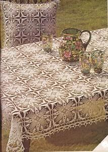 Nappe Table Rectangulaire : crochet nappe carree et rectangle le blog de crochet et ~ Teatrodelosmanantiales.com Idées de Décoration