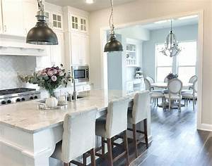white cabinet paint color is sherwin williams pure white With kitchen colors with white cabinets with lights for wall art