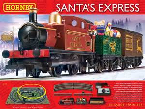 hornby r1179 hornby santa s express train set website and concession exclusive