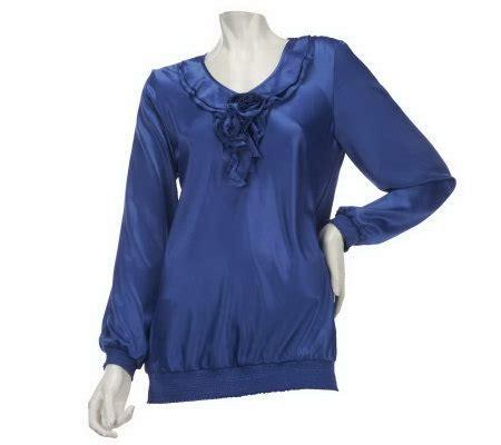 qvc blouses qvc ruffle blouse blouse styles