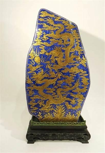 Chinese Objects Shaped Lapis Stone Auctions Wonderful