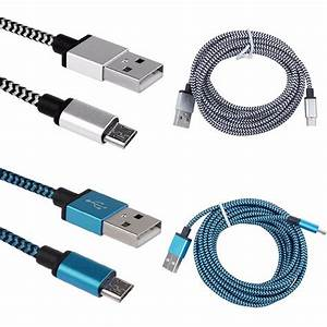 2pack Usb Data Charger Cable Cord For Samsung Galaxy Tab A