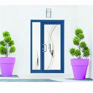 porte d entree en pvc ou aluminium avec remplissage vitre With porte d entrée pvc avec porte aluminium