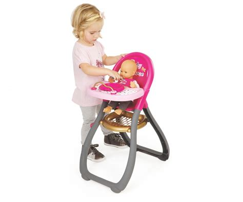 chaise haute smoby bn highchair baby doll accessories products