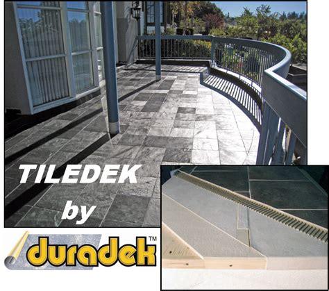 the duradek way duradek expert the duradek way deck expert bill leys to educate on tile