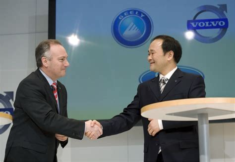 volvo   deal   sold  company  china