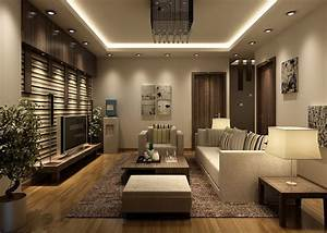 Feature wall in living room modern house for Living room feature wall design