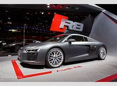 2016 Audi R8 V10 Reveals the Next Era of German Supercars