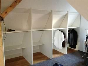 Ikea Kleiderstange Wand : die besten 25 schrank dachschr ge ideen auf pinterest ~ Michelbontemps.com Haus und Dekorationen