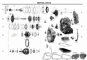 Transmission Repair Manuals Cvt Jf011e  Re0f10a   Re0f06a