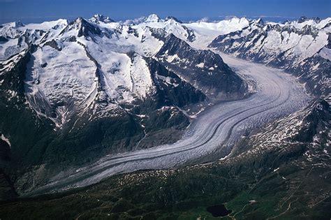 swisseduc glaciers  grosser aletschgletscher
