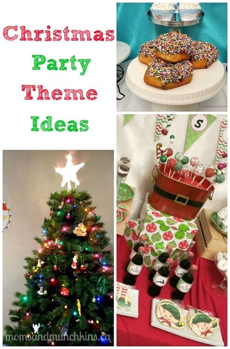 Christmas Party Themes Moms & Munchkins