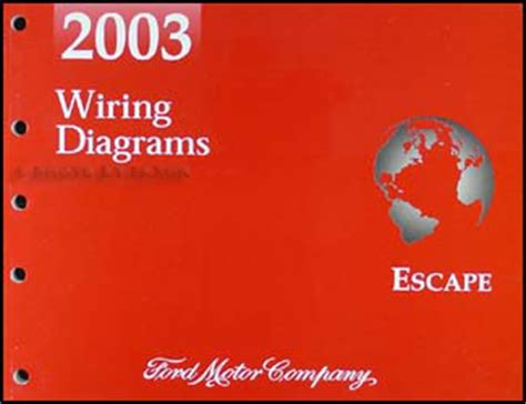 2003 Ford Escape Wiring Diagram by 2003 Ford Escape Wiring Diagram Manual Original