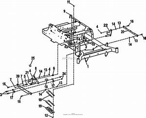 Bunton  Bobcat  Ryan 942600ca Crz Fr600v Kaw W  48 Side Discharge Parts Diagram For Deck Lift
