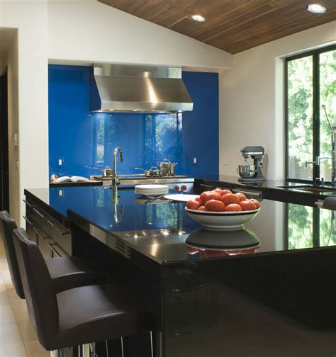 backsplash ideas for kitchen walls 27 blue kitchen ideas pictures of decor paint cabinet 7565
