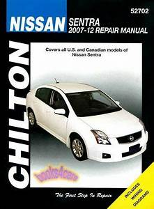 Shop Manual Sentra Service Repair Nissan Book Chilton