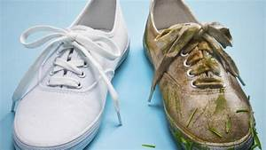 Watch How To Clean White Sneakers With Jim Moore