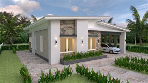 house plans    bedrooms shed roof house plans
