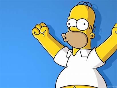 Homer Simpson Funny Wallpapers Een Desktop Background